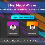 Team Digital Innovation Wins Silver Medal Award in International Blockchain Olympiad 2020